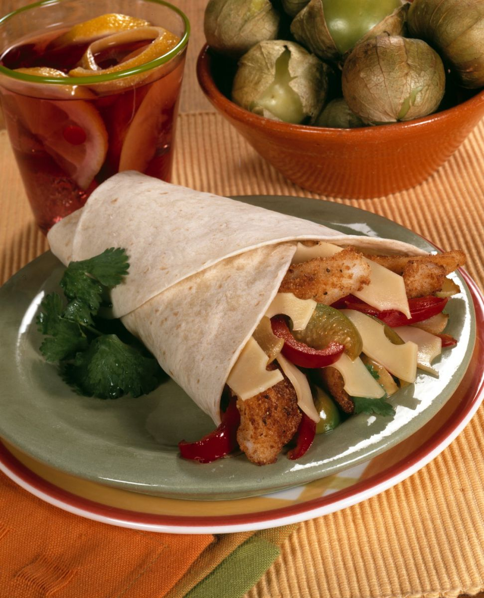 BAKED FISH FAJITAS  A TASTY, HEALTHY TWIST!